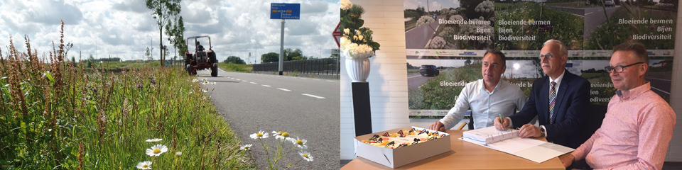 Prestatiebestek bloeiende bermen in Bodegraven-Reeuwijk