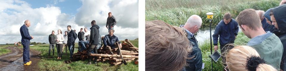 Leerlingen uit het Westland bezoeken polder Oukoop